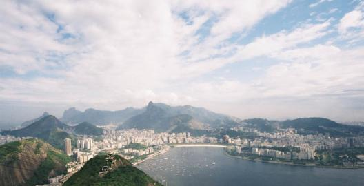 Rio from the top of Sugar Loaf Mountain