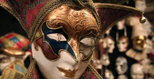 Ornate Venecian mask