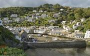 View over Polperro