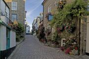 St Ives' colourful streets